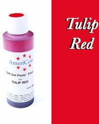 Americolor Soft Gel Paste Tulip Red 13.5 ounces