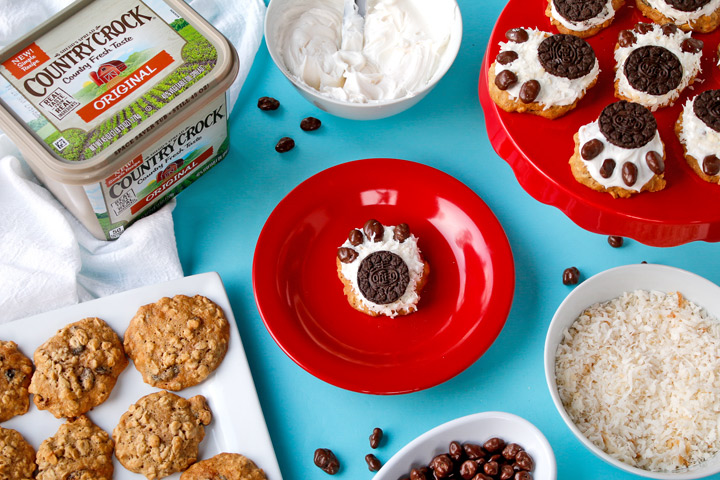 Country Crock® Make It Yours™ Oatmeal Raisin Mama Bear Cookies Recipe | The Bearfoot Baker