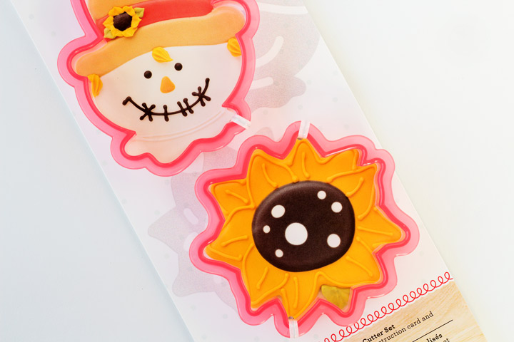 Hedgehog Cookies with a Sunflower Cookie Cutter - With a How to Video   The Bearfoot Baker
