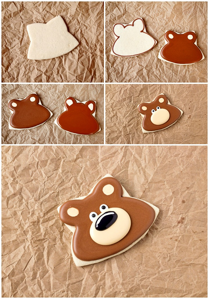 How To Make Decorated Woodland Cookies with Video   The Bearfoot Baker