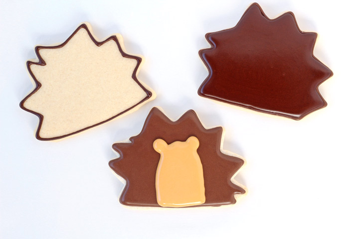 Simple Hedgehog Cookies - With a How to Video | The Bearfoot Baker