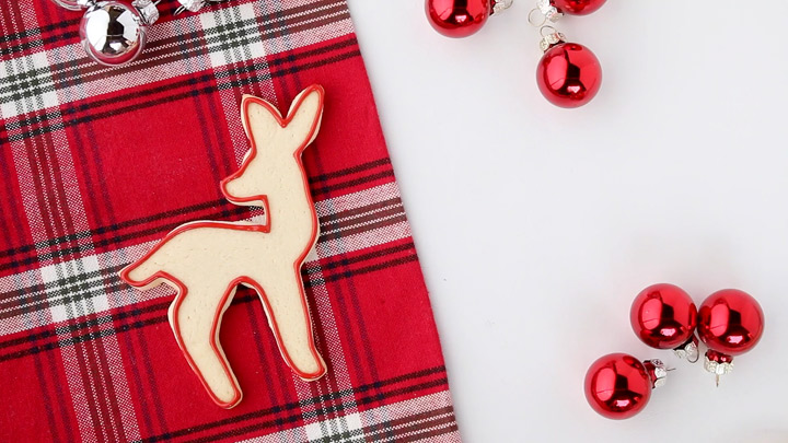 Advent Deer Cookies | The Bearfoot Baker