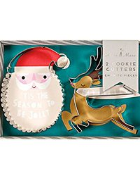 Christmas Cookie Cutter Be Jolly by Meri Meri
