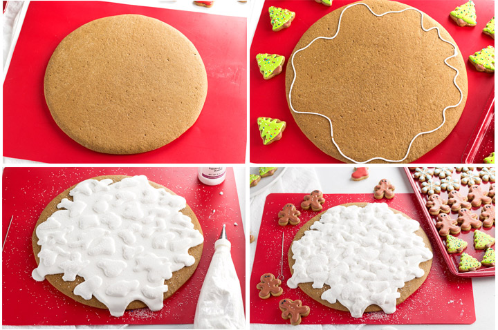 How to Make Gingerbread Pizza Cookies with Video | The Bearfoot Baker