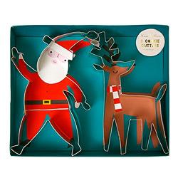Meri Meri Santa and Reindeer Cookie Cutter Set