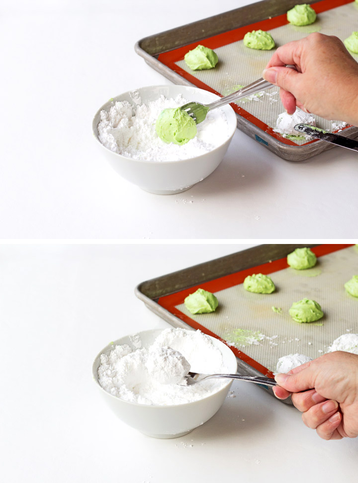Simple Grinch Cookies with a How to Video | The Bearfoot Baker