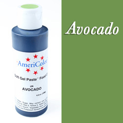 Americolor Soft Gel Paste Food Color-Avocado