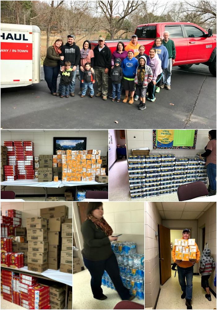 Gatlinburg Fires Food Donations | The Bearfoot Baker