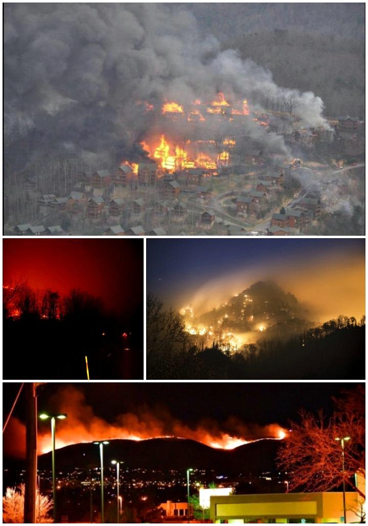 Gatlinburg Fires November 2016 | The Bearfoot Baker