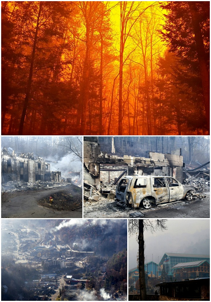 Gatlinburg Fires | The Bearfoot Baker