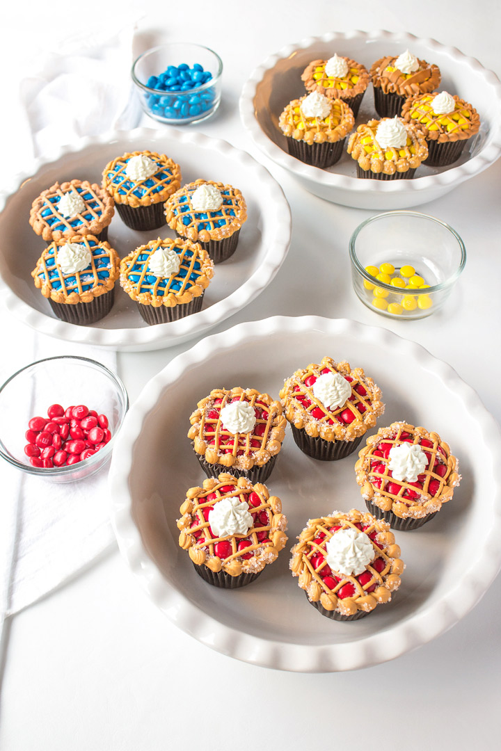 How to Make Cupcakes That Look Like a Pie | The Bearfoot Baker