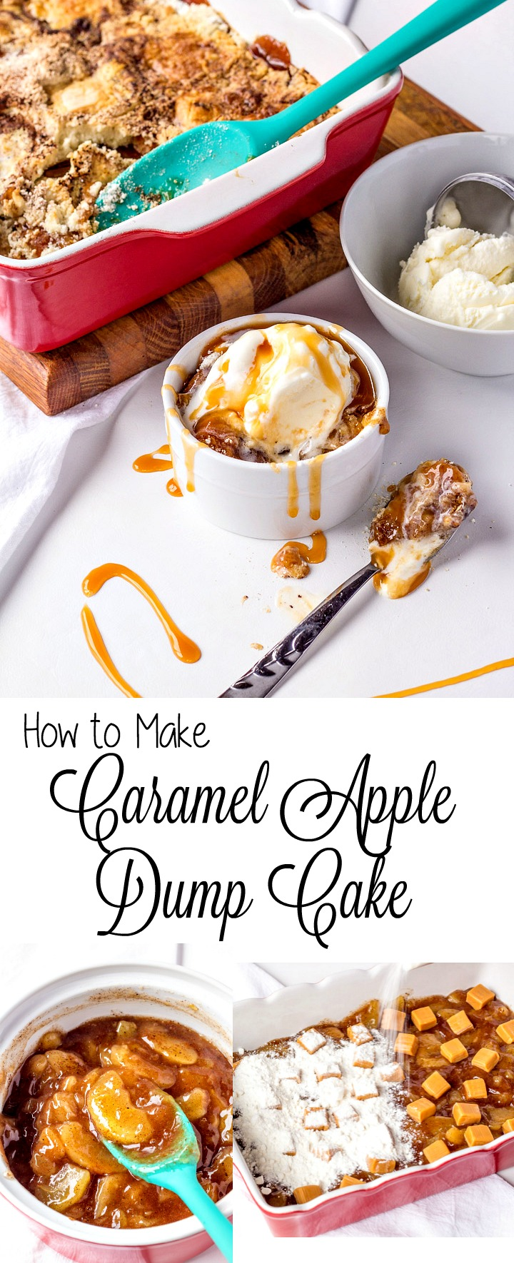 How to Make a Simple Apple Dump Cake with Video | The Bearfoot Baker