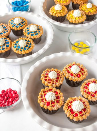 Simple Cupcakes that Look Like Little Pies