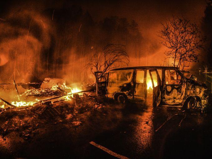 The Gatlinburg Fires   The Bearfoot Baker