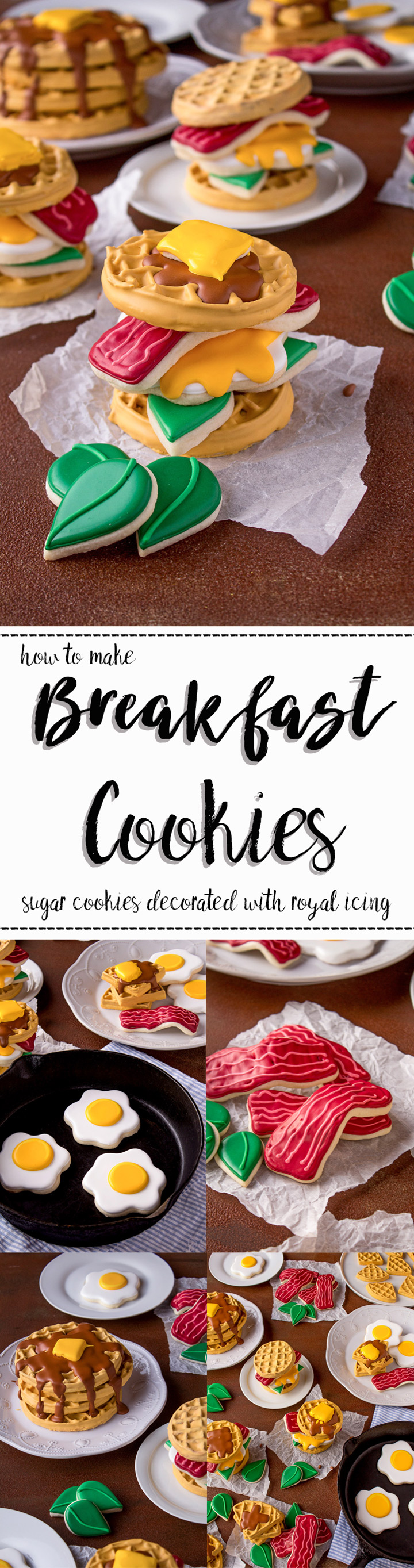 Breakfast Cookies-How to Make a Display You'll Love Using these Tutorials | The Bearfoot Baker