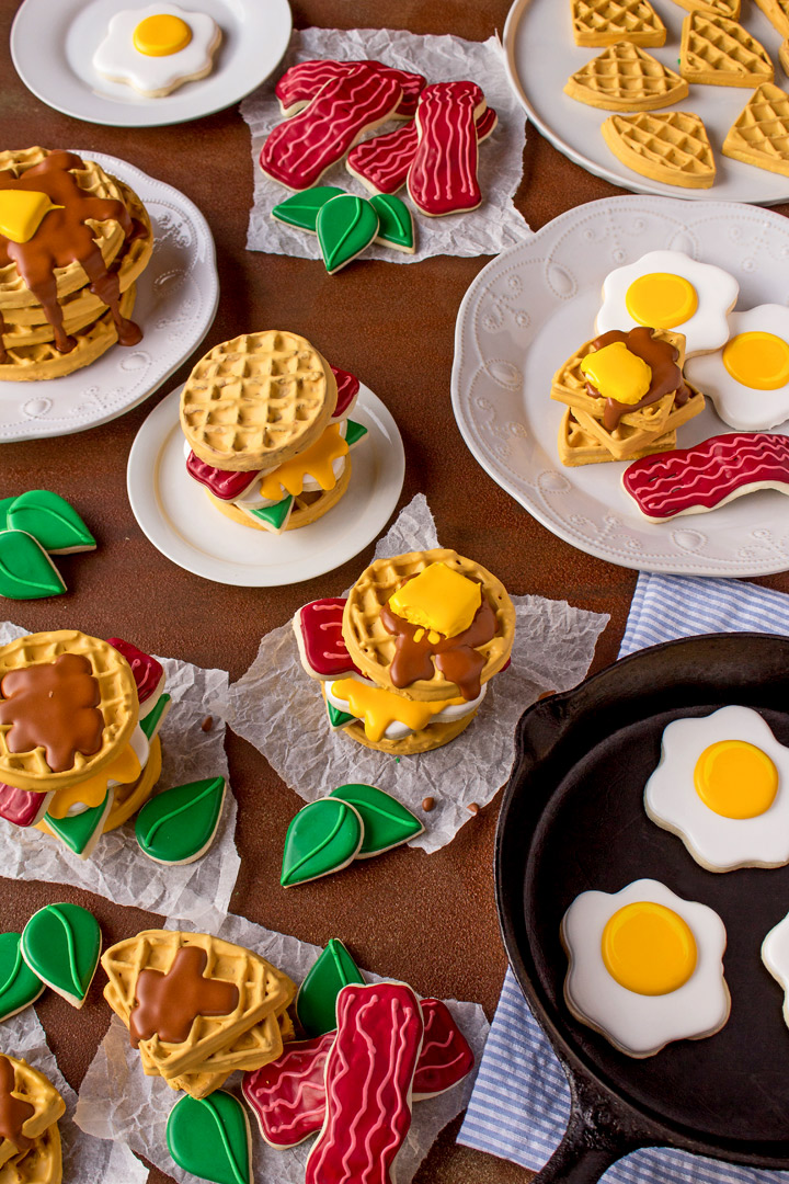 Breakfast Cookies - How to Make a Fun Breakfast Display You'll Love | The Bearfoot Baker