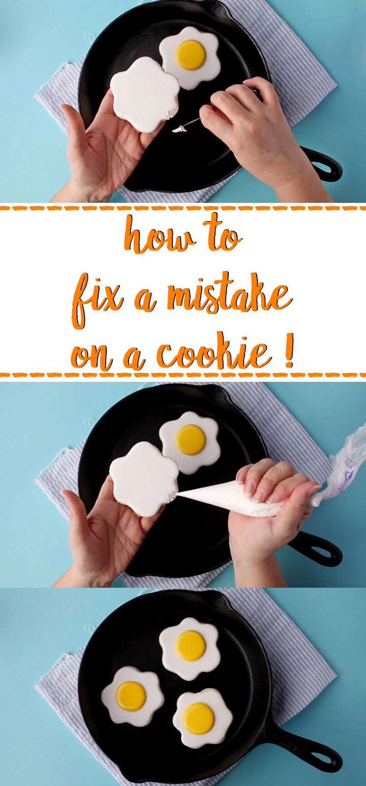 How to Fix a Mistake On a Cookie | The Bearfoot Baker