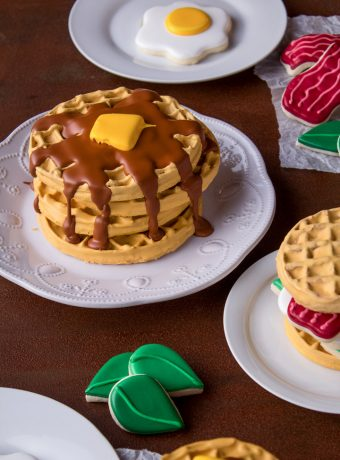 How to Make Wonderful Waffle Cookies with a Video | The Bearfoot Baker