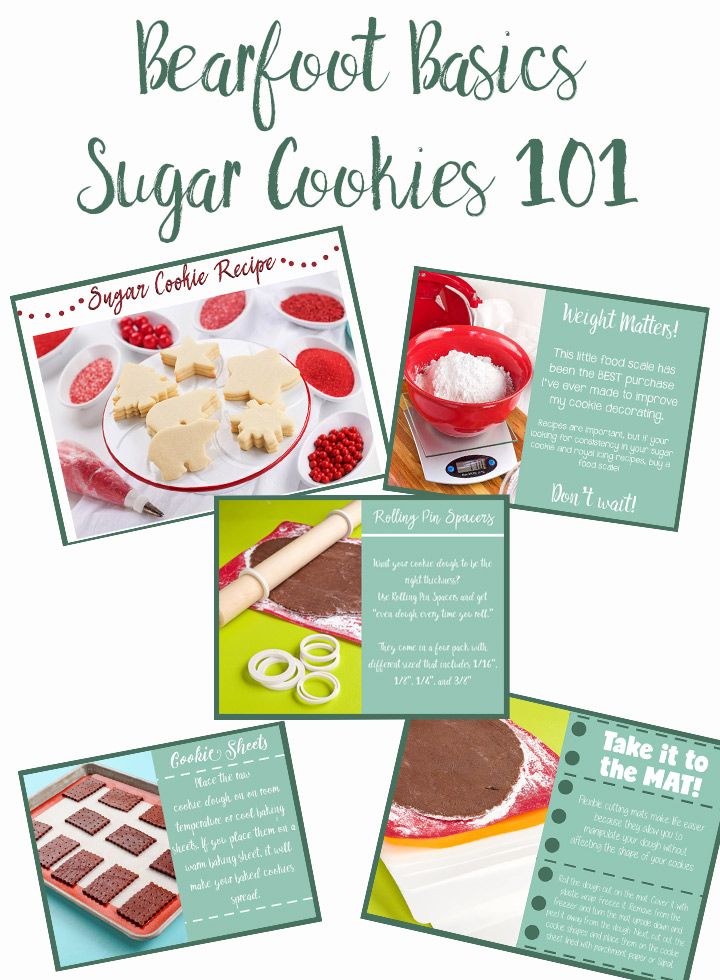 Sugar Cookies 101 How to Make Amazing Cookies Every Time | The Bearfoot Baker