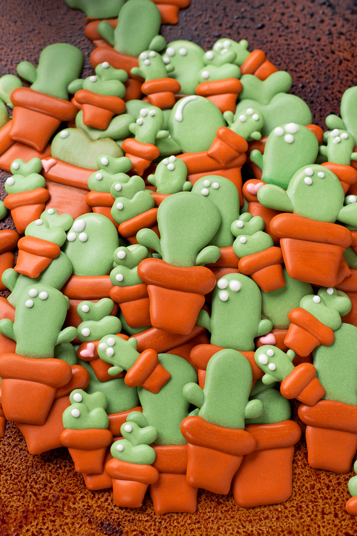 How To Make Cactus Candy Decorations With A Video The