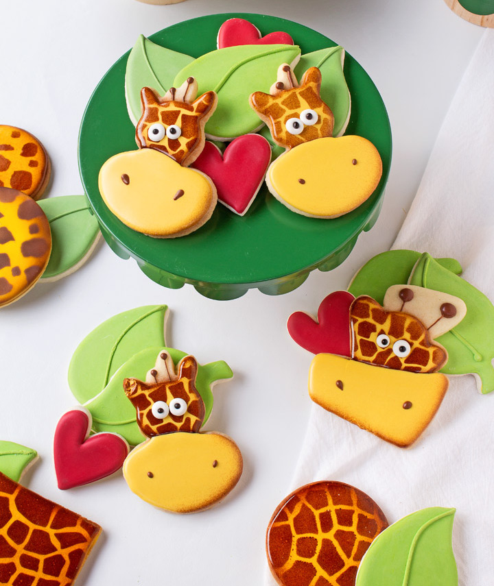How to Make Silly Giraffe Cookies with a Video | The ...