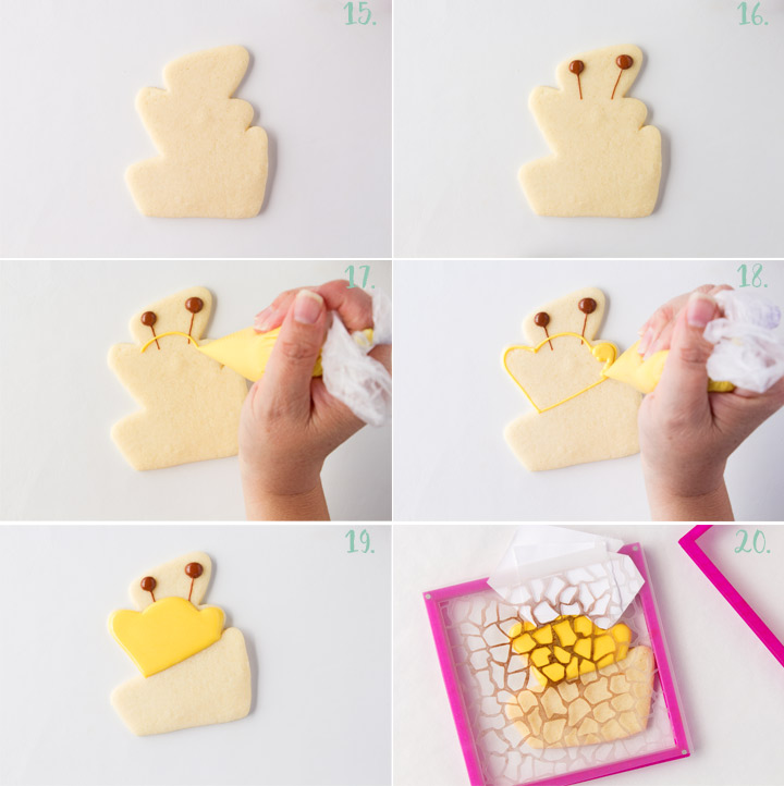 How to Make Simple Giraffe Cookies with a Video | The Bearfoot Baker