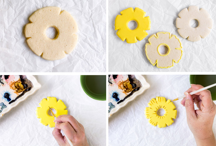 How to Make Awesome Pineapple Cookies Decorated with Royal Icing Video | The Bearfoot Baker