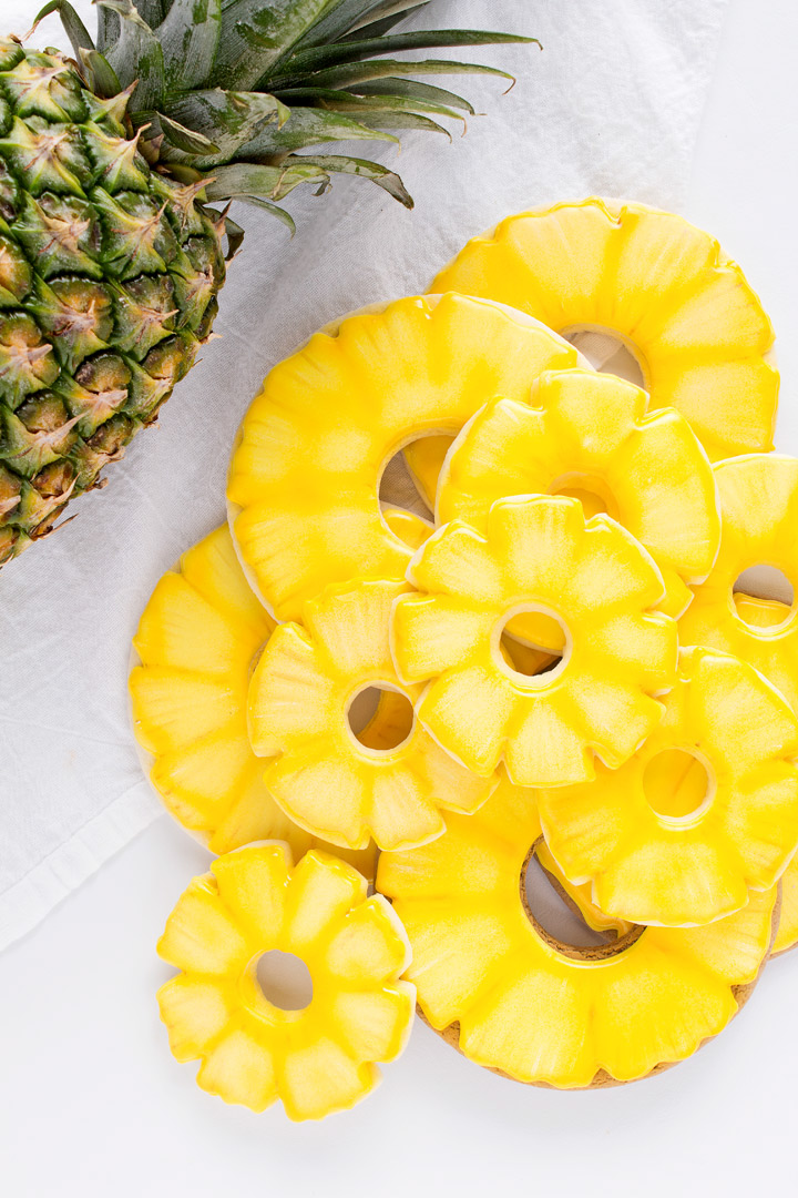 How to Make Awesome Pineapple Cookies with a Video Tutorial | The Bearfoot Baker