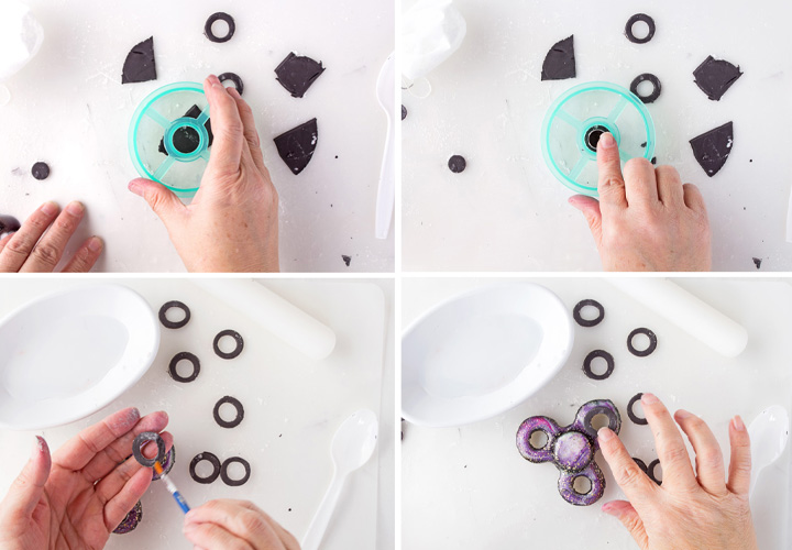 How to Make Fidget Spinner Cookies that Look Real | The Bearfoot Baker