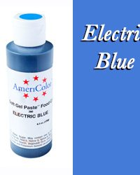 Americolor Soft Gel Paste Food Gel, Electric Blue 4.5 ounce