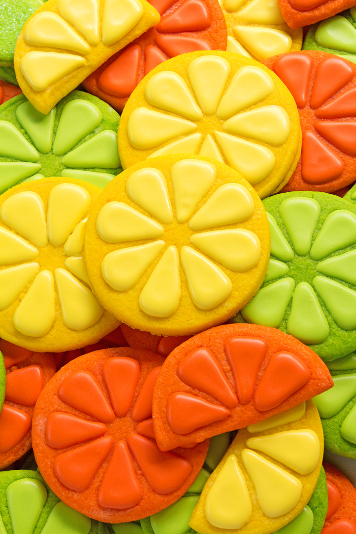 Cookie Stamps - How to Make Lemon Cookies with a Video | The Bearfoot Baker