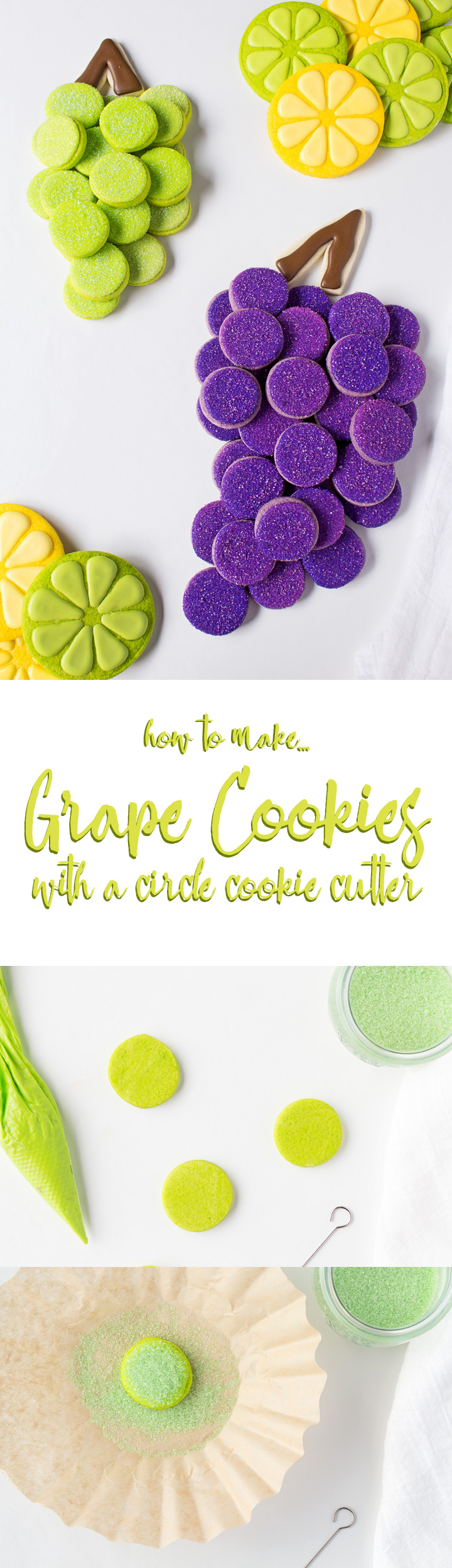 How to Make Grape Cookies | The Bearfoot Baker