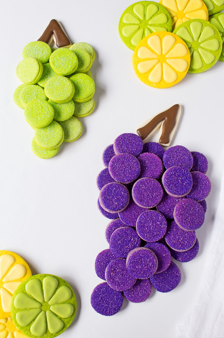 How to Make Simple Grape Cookies with a Video | The Bearfoot Baker