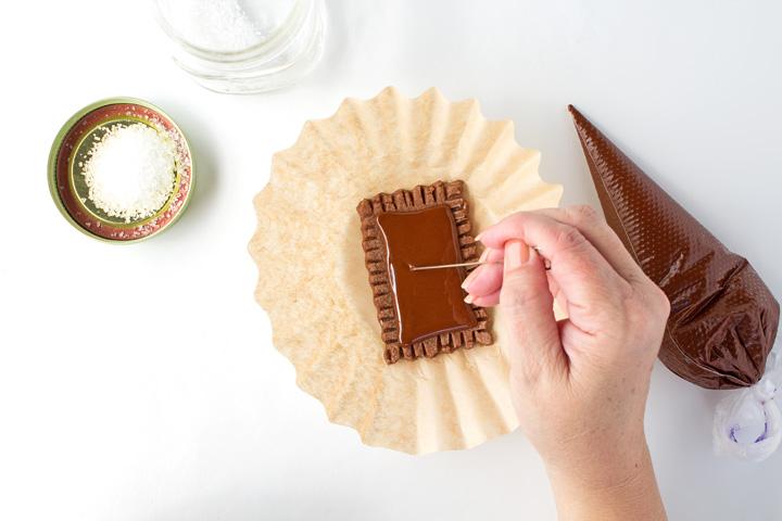 How to Make a Fun Sugar Cookie that looks like a Pop-Tart   The Bearfoot Baker