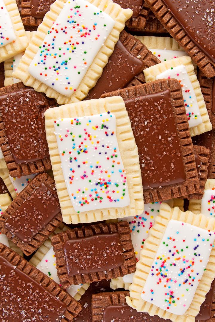 pop tart cookies, food art