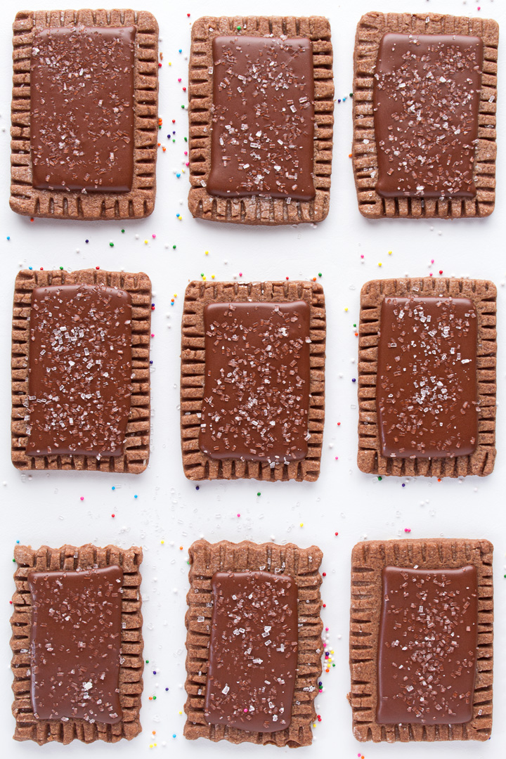 How to Make a Sugar Cookie that looks like a Pop-Tart with a Video   The Bearfoot Baker