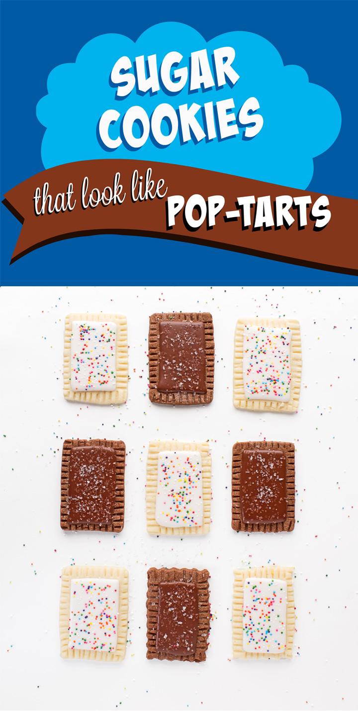Make a Sugar Cookie that looks like a Pop-Tart | The Bearfoot Baker