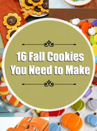16 Fall Cookies That Will Make You Happy | The Bearfoot Baker