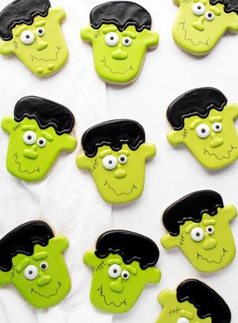 Cute Frankenstein Cookies Don't Have to Be Scary | The Bearfoot Baker
