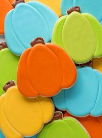 How to Make Fun Easy Pumpkin Cookies | The Bearfoot Baker