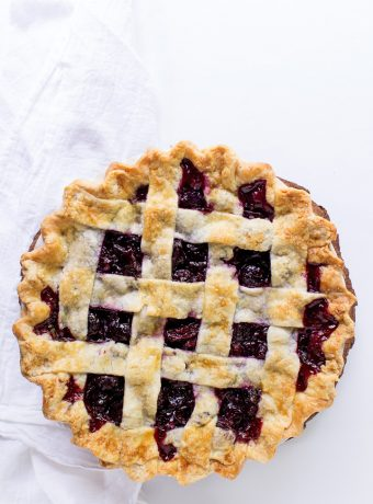 How to Make an Easy Homemade Cherry Pie Recipe | The Bearfoot Baker