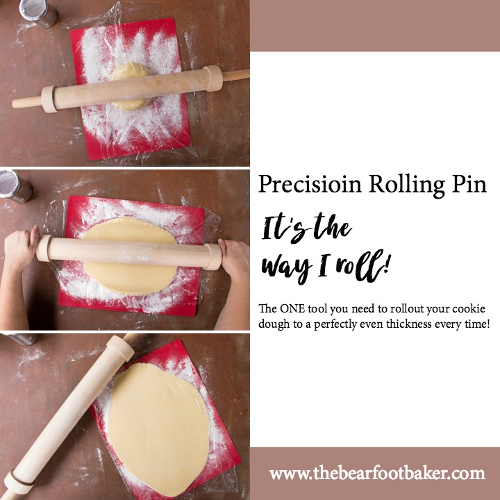 Precision Rolling Pin It's the Way I Roll | The Bearfoot Baker