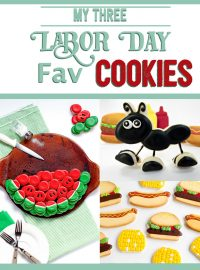 Simple Labor Day Cookies You Still Have Time to Make | The Bearfoot Baker