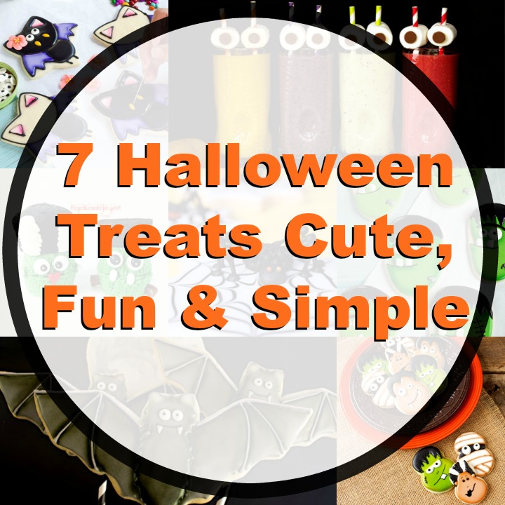 7 Halloween Treats That are Fun and Simple You Can Make | The Bearfoot Baker