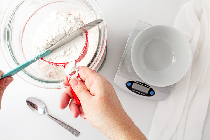 Sugar Cookie Recipe Ebook Measuring Flour | The Bearfoot Baker