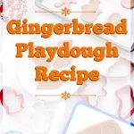 Gingerbread Playdough for Christmas | The Bearfoot Baker