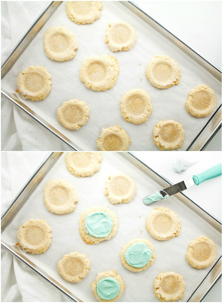 Simple Sugar Cookies with Cream Cheese Frosting | The Bearfoot Baker