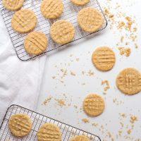 Soft and Simple Peanut Butter Cookie Recipe | The Bearfoot Baker