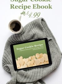 Sugar Cookie Recipe Ebook!