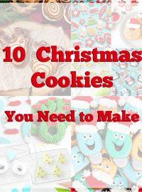 10 Christmas Cookies You Need to Make This Season | The Bearfoot Baker